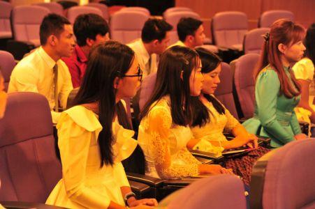 นิสิตกัมพูชา รายงานผลการศึกษาฯ