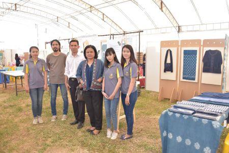 """สถาบันวิจัยศิลปะและวัฒนธรรมอีสาน ร่วมงาน """"Techno Farm Fair"""""""