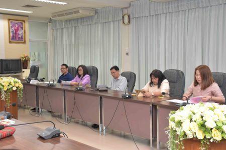ต้อนรับคณะกรรมการตรวจประเมินคำรับรองการปฏิบัติราชการ ประจำปีงบประมาณ 2561