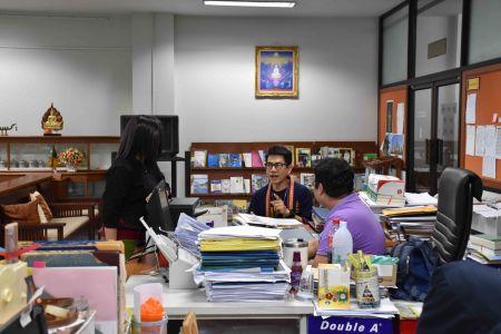 ต้อนรับคณะศึกษาดูงานจากสถาบันศรีโคตรบูรณ์ศึกษา มหาวิทยาลัยนครพนม
