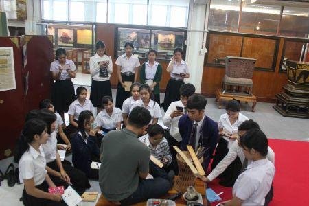 ต้อนรับอาจารย์และนิสิตภาควิชาหลักสูตรและการสอนคณะศึกษาศาตร์