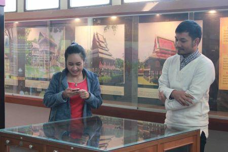 ต้อนรับ คณะอาจารย์และนักศึกษาปริญาโท สาขาวิชาจารึกภาษาไทยและภาษาตะวันออก มหาวิทยาลัยศิลปากร