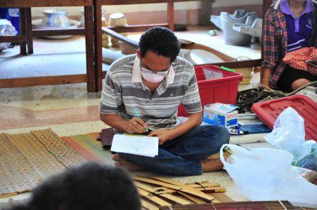 สถาบันวิจัยศิลปะและวัฒนธรรมอีสานลงพื้นที่สำรวจเอกสารโบราณ