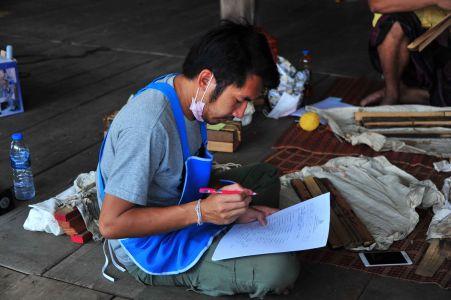 สถาบันวิจัยศิลปะฯ ลงพื้นที่สำรวจและจัดทำบัญชีเอกสารใบลาน