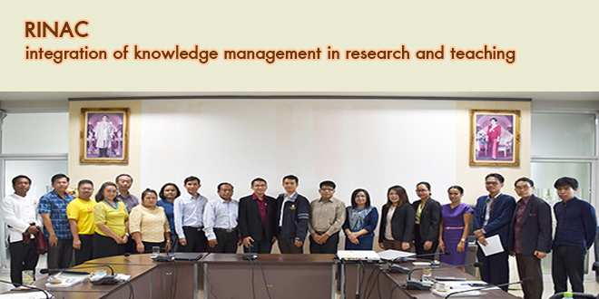 integration of knowledge management in research and teaching