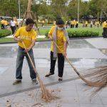 สถาบันวิจัยฯ ร่วม โครงการ Big Cleaning Day ทำดีเพื่อพ่อ